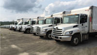Recently upgraded entire fleet of trucks.