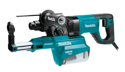 "Makita 1"" SDS Rotary Hammer w Dust Extractor, 120 V."