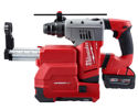 "Milwaukee 1-1/8"" SDS Rotary Hammer w Dust Extractor, 18 V."